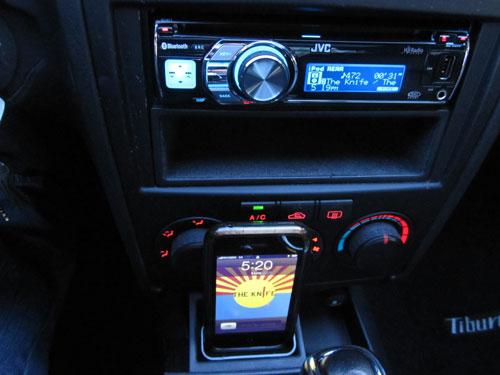 iPhone Car Cradle