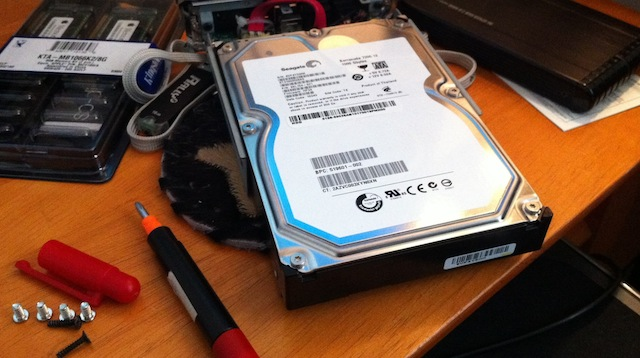 Failed WHS system drive
